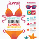 Summer Infographic Geometric Concept Design - GraphicRiver Item for Sale