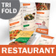 Italian Restaurant Trifold Menu - GraphicRiver Item for Sale