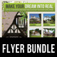 3 in 1 Real Estate Corporate Flyer Bundle 05 - GraphicRiver Item for Sale