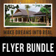 3 in 1 Real Estate Corporate Flyer Bundle 06 - GraphicRiver Item for Sale