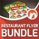 Restaurant Flyer Bundle V1 - GraphicRiver Item for Sale