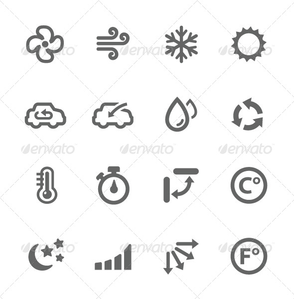 Meaning Of Yahoo Weather Snowflake And Thermometer Symbol