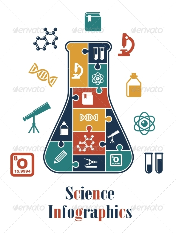 GraphicRiver Science Infographics 7663034