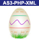 Easter Flash Card - AS3, PHP, XML - ActiveDen Item for Sale