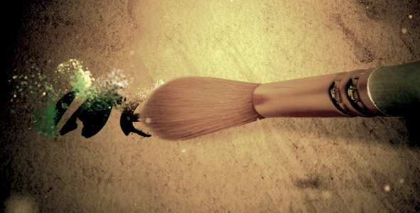 After Effects Project - VideoHive Brush Logo 786602