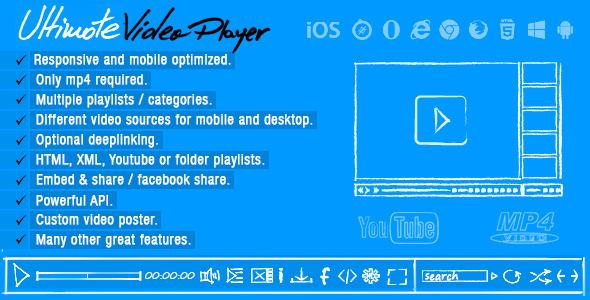 Ultimate Video Player Wordpress Plugin - WPMeta