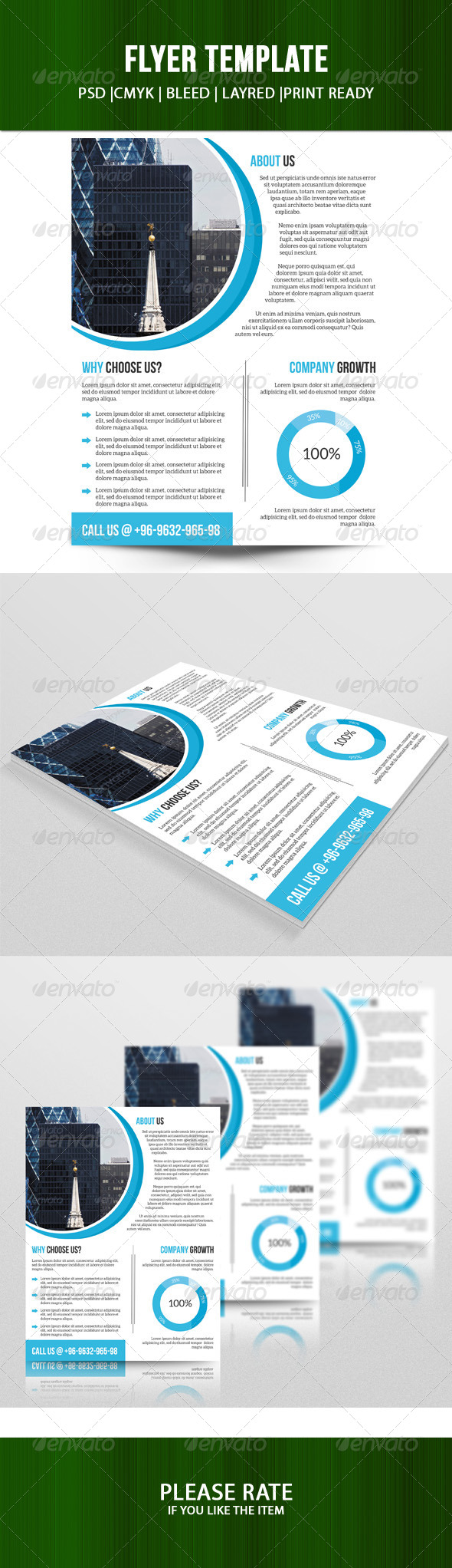 GraphicRiver Business Flyer Template 7700469