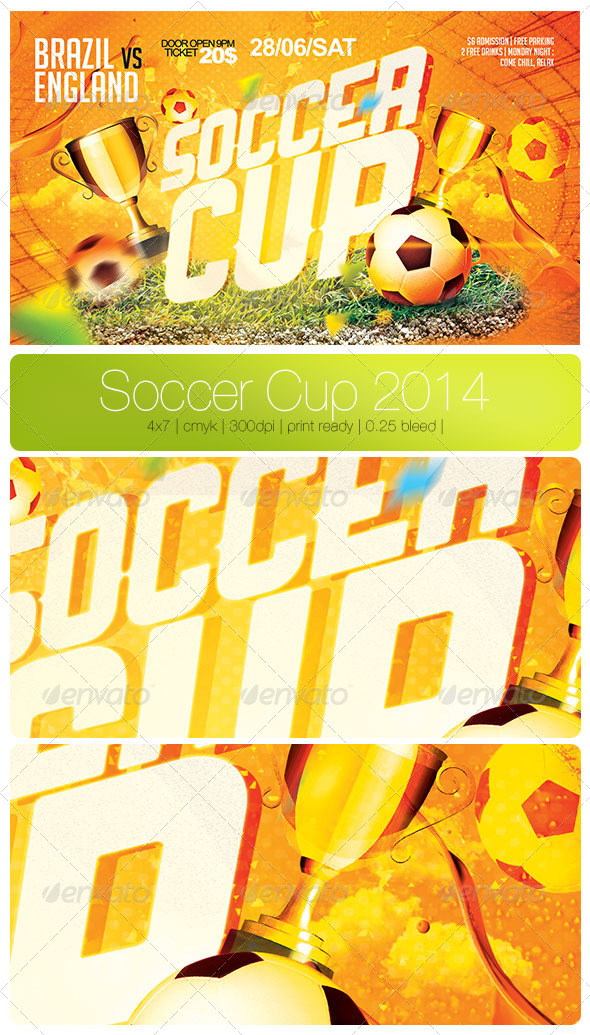 GraphicRiver Soccer Cup 2014 7701413