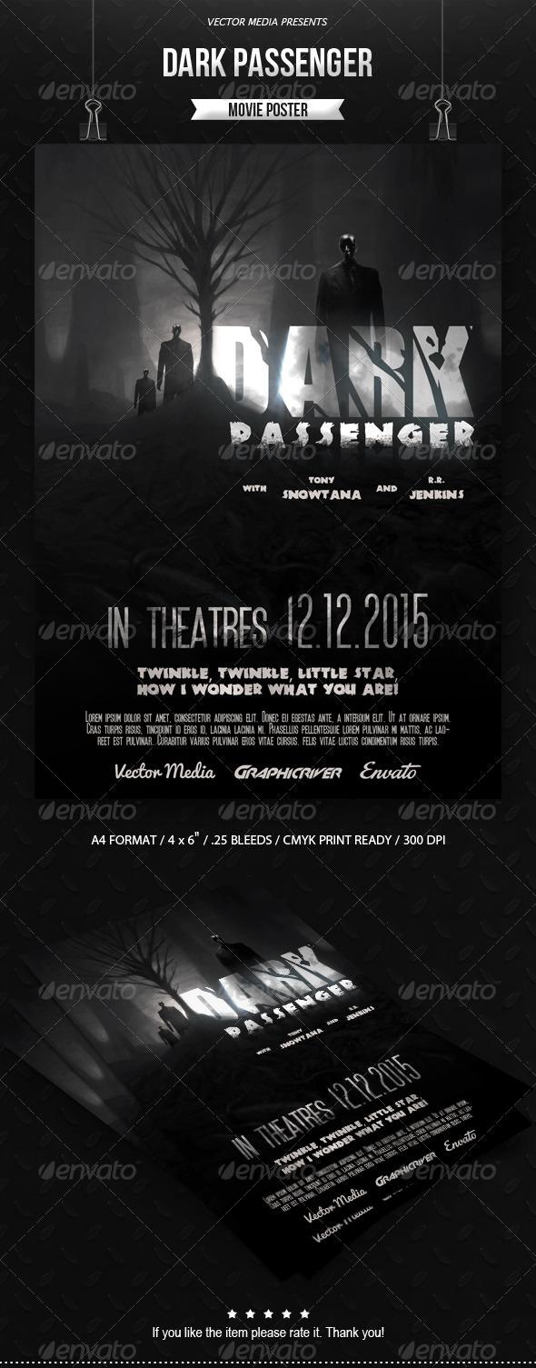 GraphicRiver Horror Movie Poster [Vol.4] 7702892