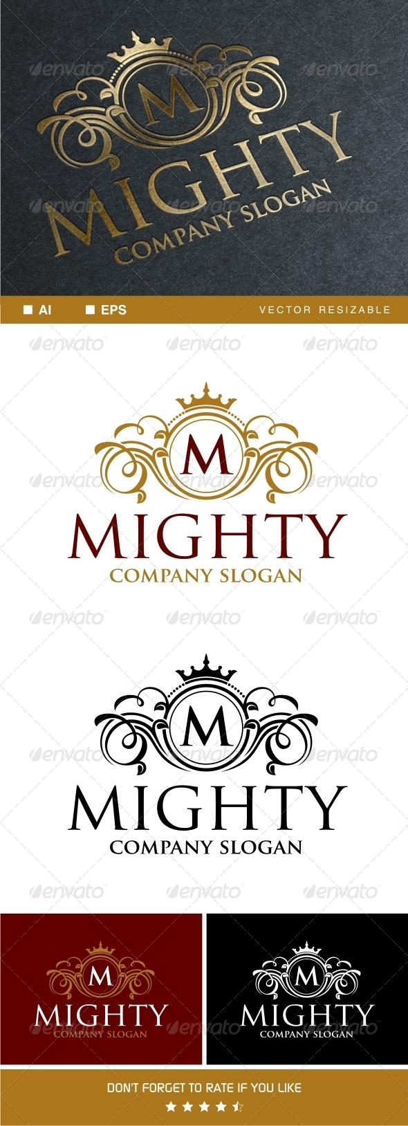 GraphicRiver Mighty Logo Template 7705052