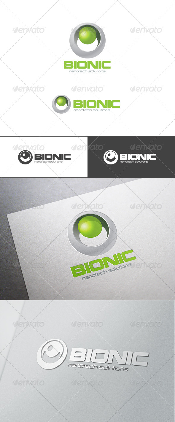 GraphicRiver Bio Technology Sphere Logo Abstract 7707752