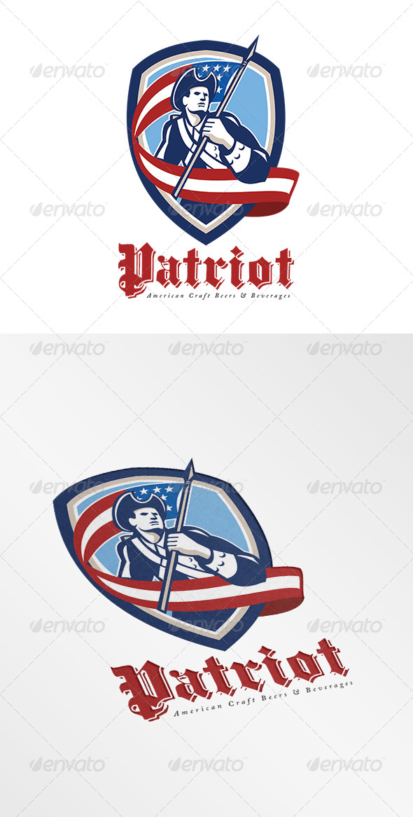 GraphicRiver American Craft Beers and Beverages Logo 7708479