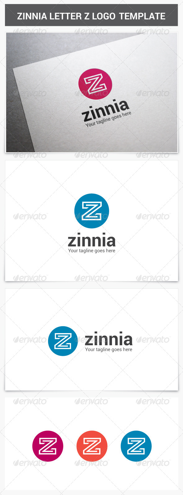 GraphicRiver Zinnia Letter Z Logo 7721187