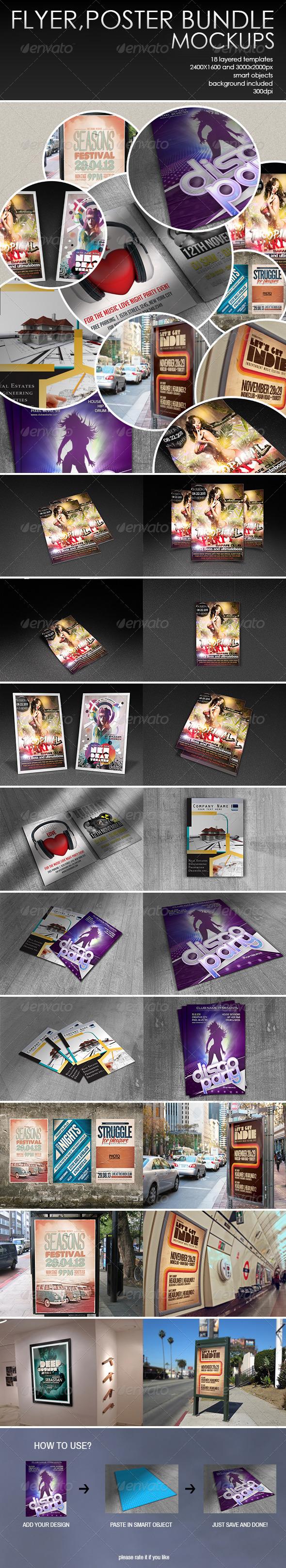 GraphicRiver Flyer Poster Bundle 7721745