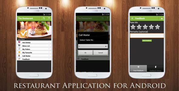 Restaurant Order Mobile App  - Android & iOS - 3