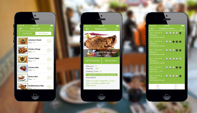 Restaurant Order Mobile App  - Android & iOS - 1