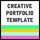 Creative Portfolio Template - ActiveDen Item for Sale