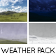 Sunny Day, Night Time, Rain, Snow - Weather Pack