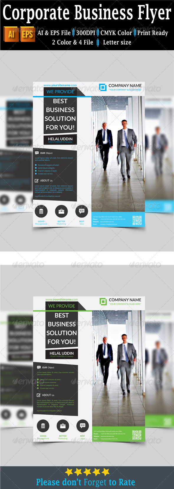GraphicRiver Corporate Business Flyer 7670522