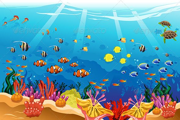Underwater Drawing For Kids » Dondrup.com
