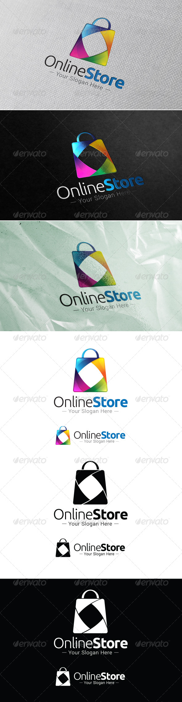 GraphicRiver Online Store Logo Template 7704899