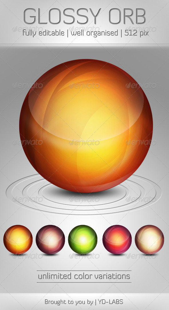 Graphic River Glossy Orb Icons -  Miscellaneous 791515