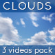 Sunny Clouds - 3 Videos Pack