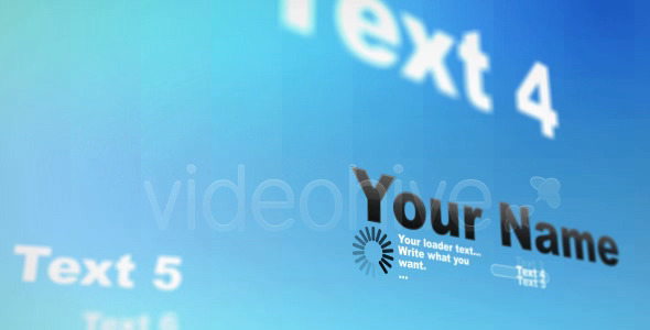 After Effects Project - VideoHive Turning Words 68560