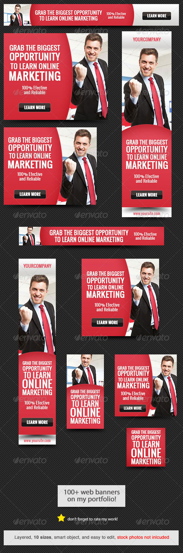 GraphicRiver Corporate Web Banner Design Template 38 7761768
