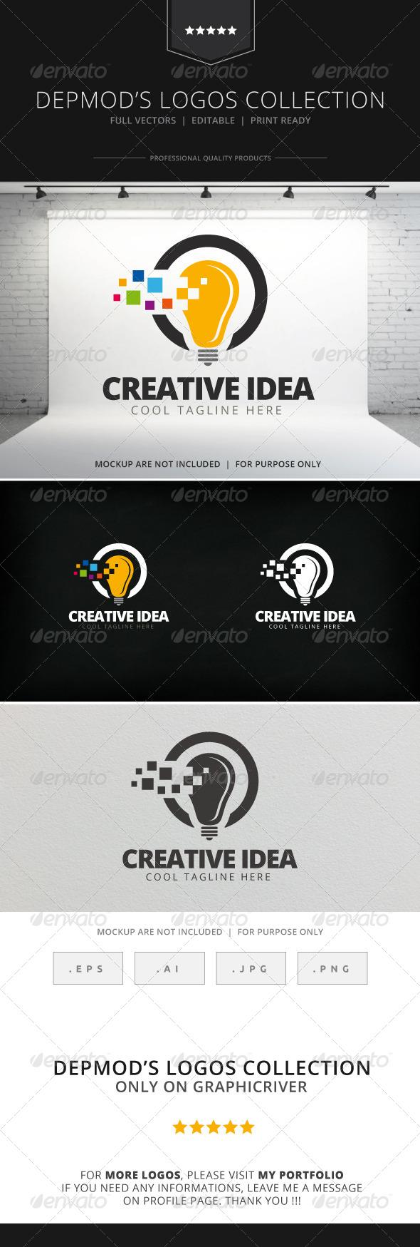GraphicRiver Creative Idea Logo 7764466