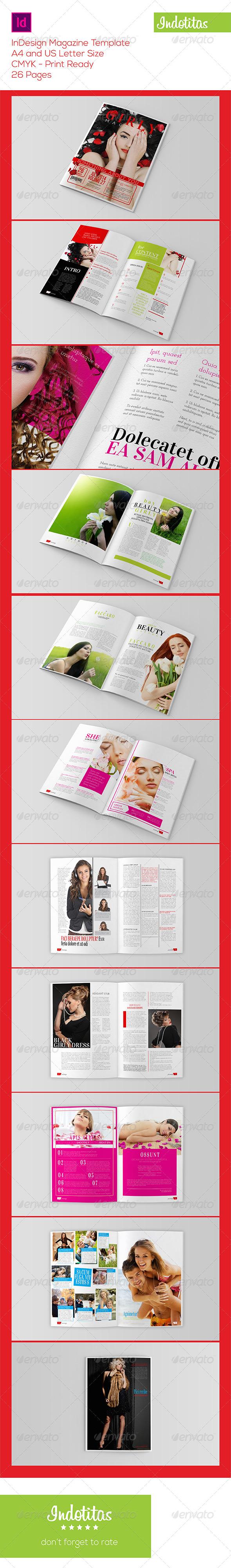 GraphicRiver InDesign Magazine Template 7764855