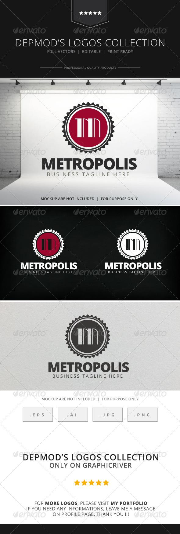 GraphicRiver Metropolis Logo 7765797