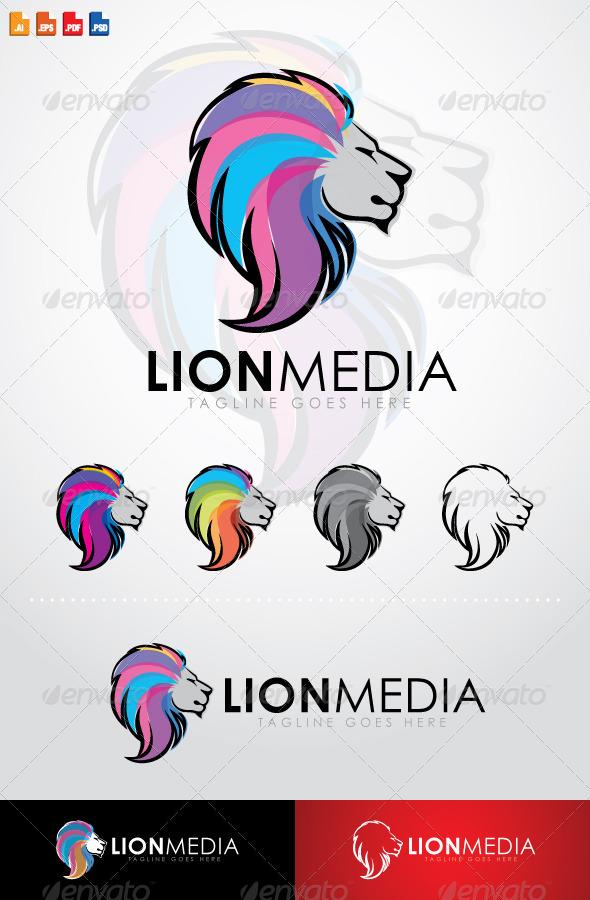 GraphicRiver LionMedia Logo 7767572