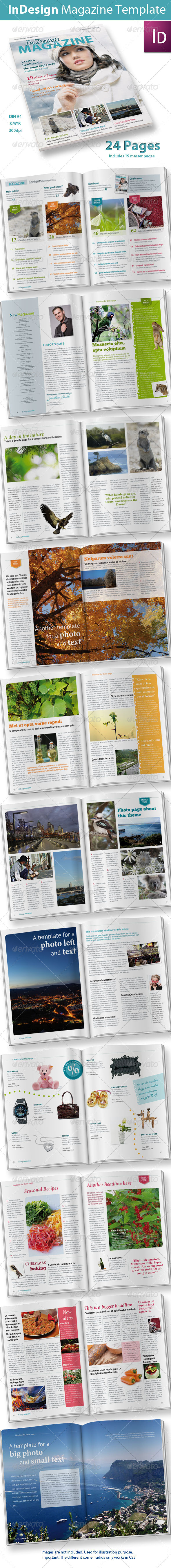 GraphicRiver 24 Pages InDesign Magazine 794556