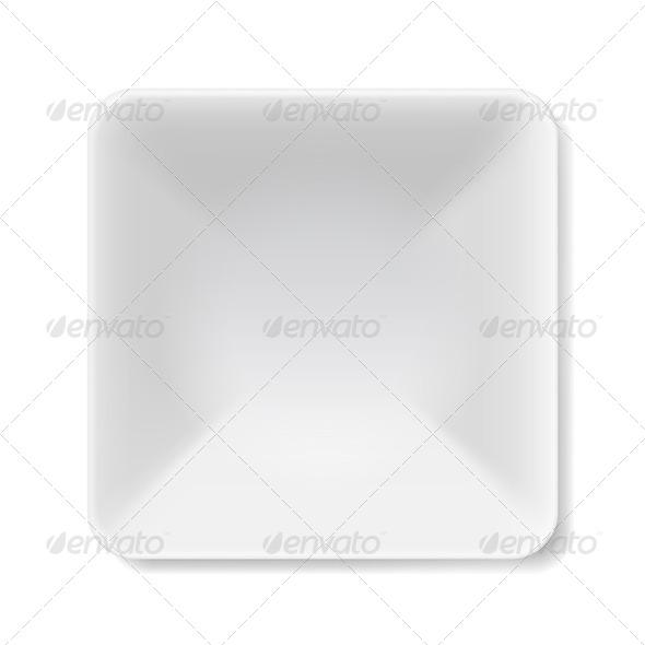 GraphicRiver White Plate 7771689
