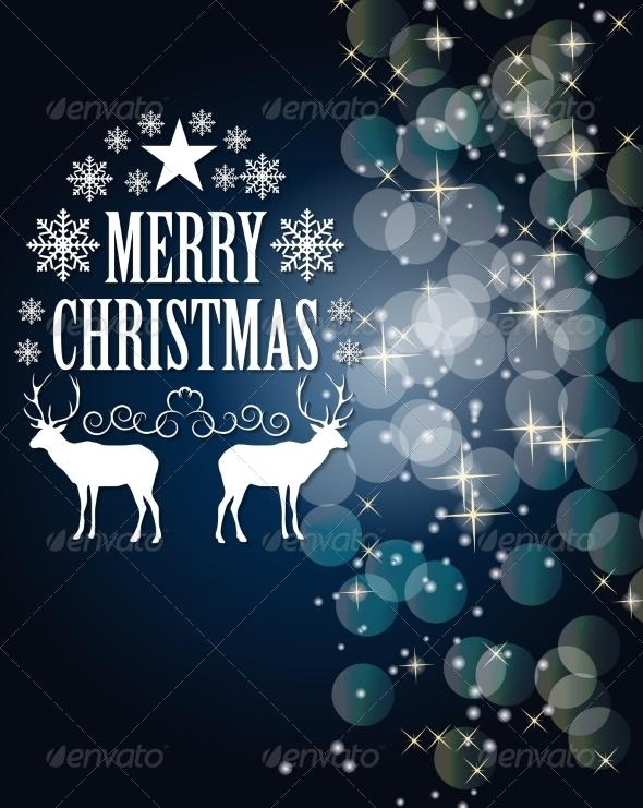 GraphicRiver Christmas Background 7776859