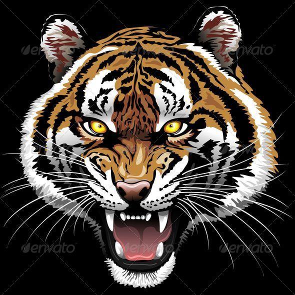 GraphicRiver The Tiger Roar 7778138