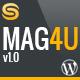 Mag4u - Responsive WordPress News, Magazine, Blog