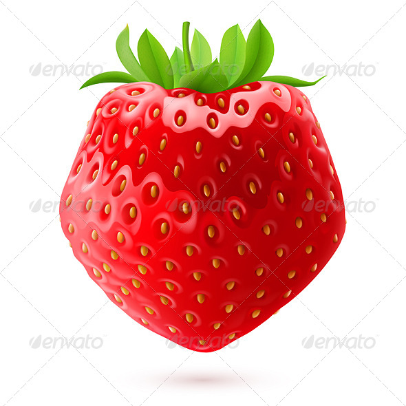 GraphicRiver Appetizing Strawberry 7781916