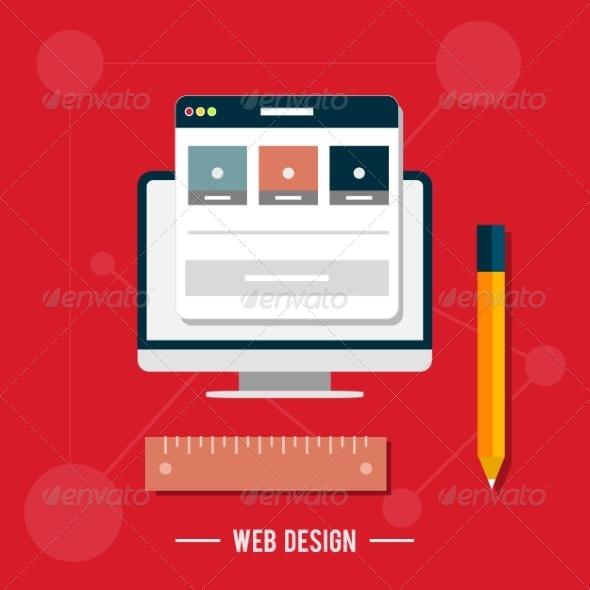 GraphicRiver Web Design Concept 7784214