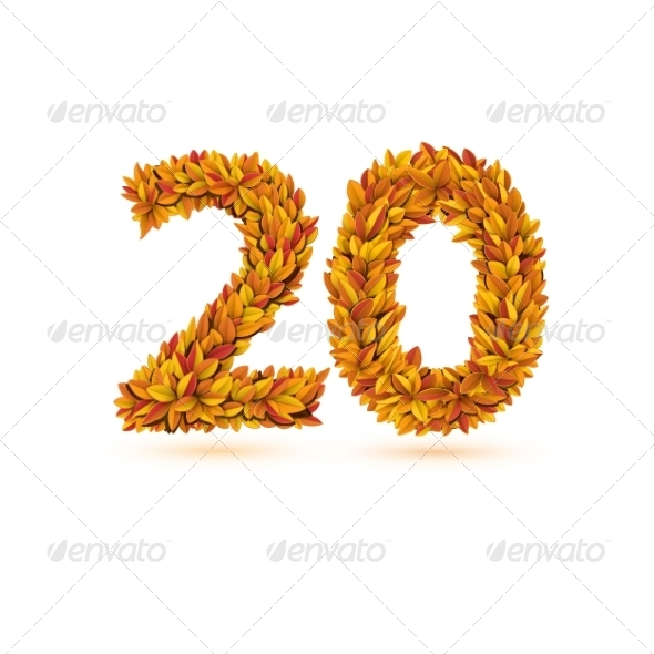 GraphicRiver Autumn Leaves Number 7786318