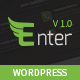 Enter - One Page Parallax WordPress Theme