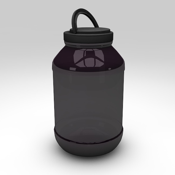 3DOcean Protein Container with Studio Setup 7790764