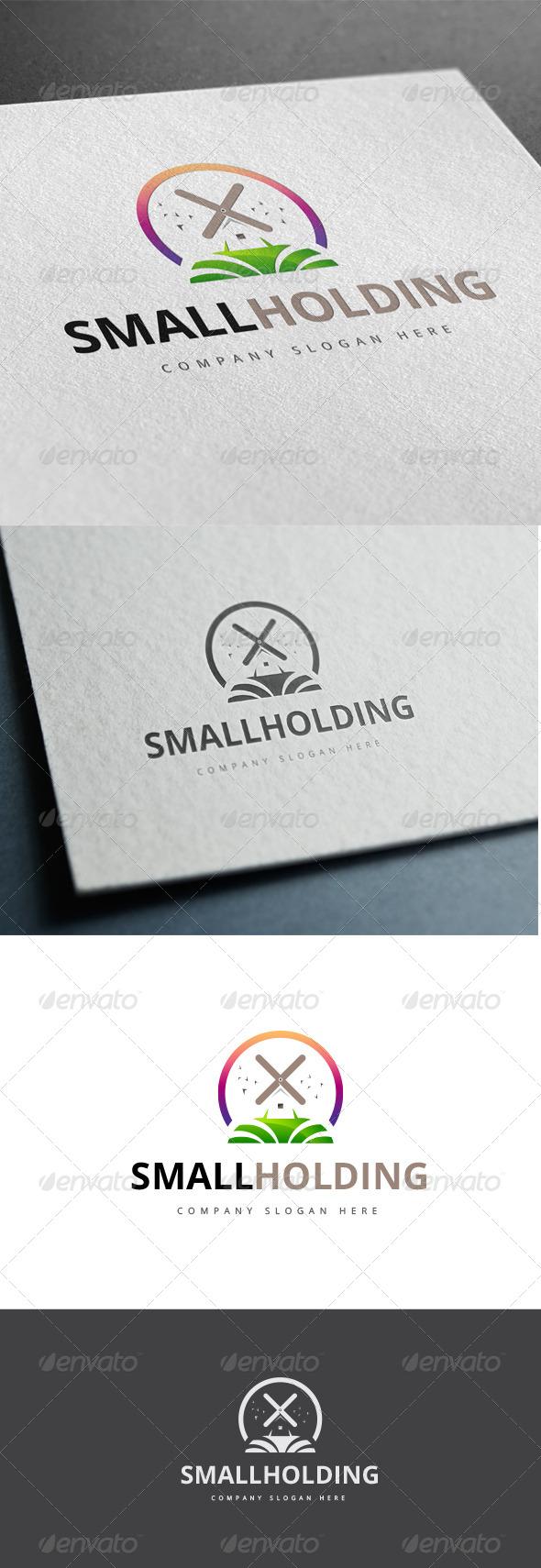 GraphicRiver Smallholding Logo 7791085