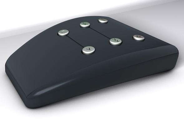 3DOcean Design Bluetooth Remote Control 7791245