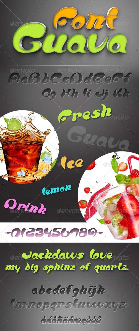 GraphicRiver Guava Font 7791767