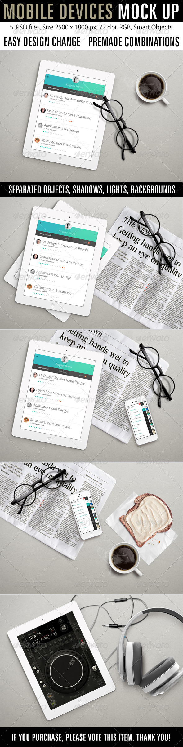 GraphicRiver Mobile Devices Mock Up 7791836