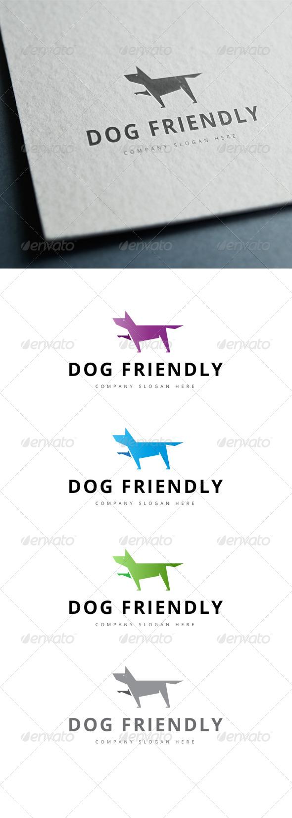 GraphicRiver Dog Friendly Logo 7791962