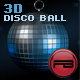 3D Disco ball with wall reflection.( Discoball ) - ActiveDen Item for Sale