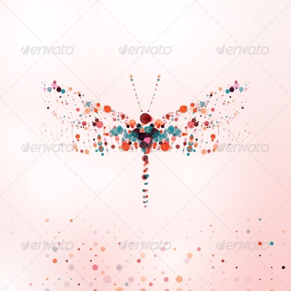 GraphicRiver Abstract Dragonfly 7793101